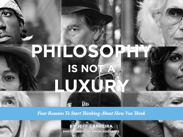 podcast – Philosophy Is Not A Luxury